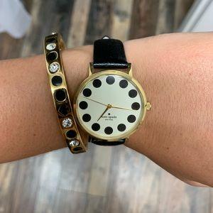 Kate Spade watch & bangle